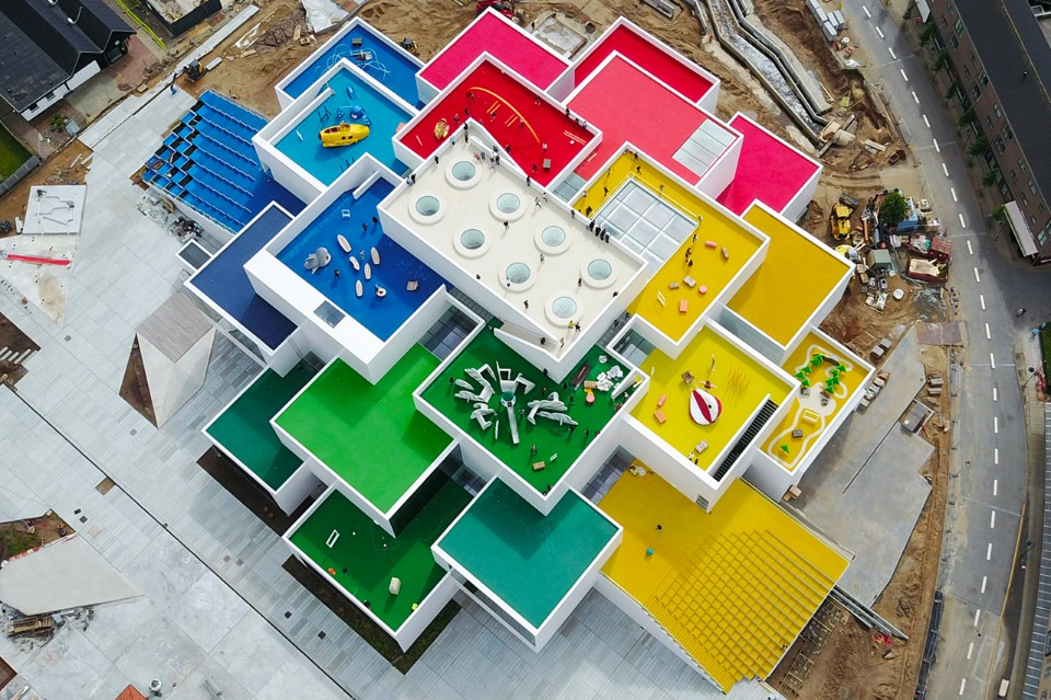 DENMARK The Lego House at Billund